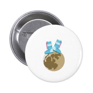 Moon Walk Pin