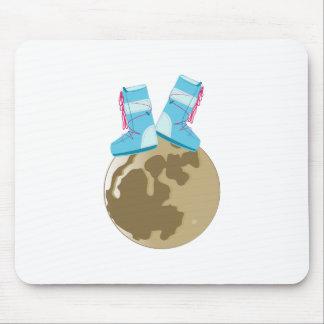Moon Walk Mousepads