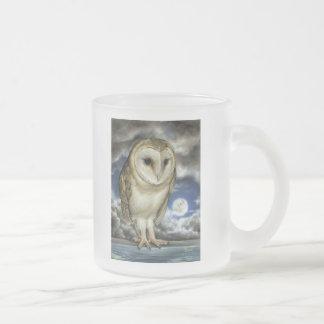 Moon Watch Frosted Glass Coffee Mug