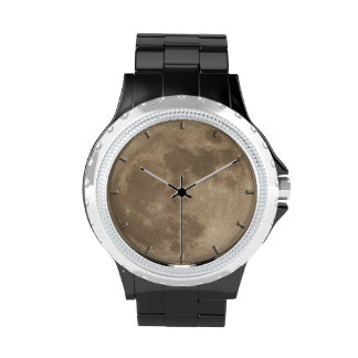 Moon Watch Full Moon Wrist Watch Astronomy Gifts