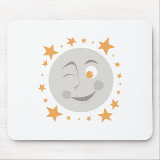 Moon Wink Mousepads