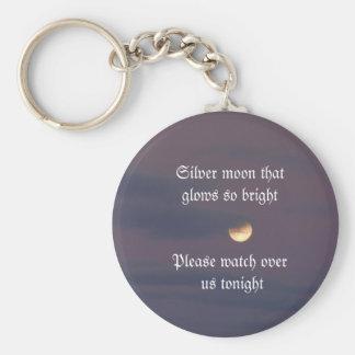 Moon Wish Keychain