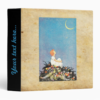 Moon wishes 3 ring binder