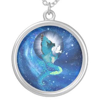 Moon Wishes Mermaid Pendants