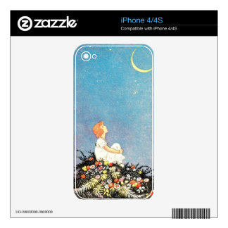 MOON WISHES iPhone 4S DECALS