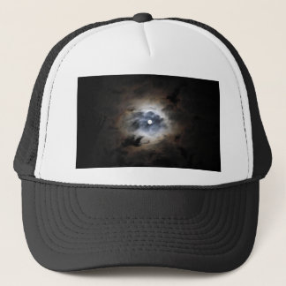 Moon With Clouds Trucker Hat