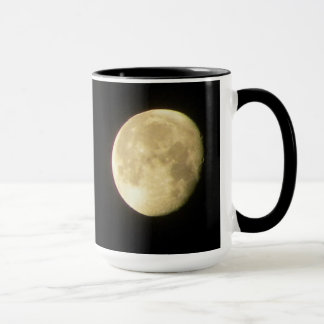 Moon With Craters Mug
