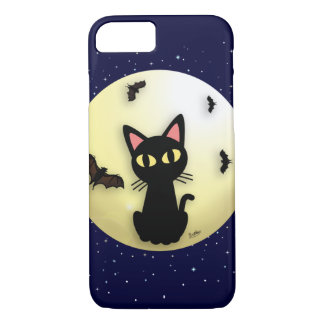 Moon with the cat iPhone 8/7 case