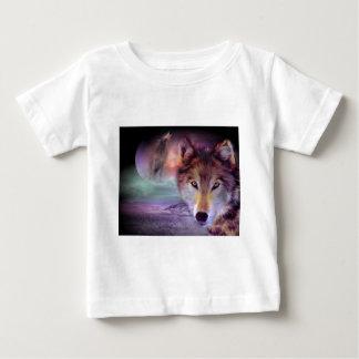 Moon Wolf Baby T-Shirt