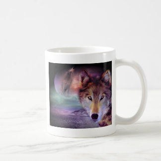 Moon Wolf Coffee Mug
