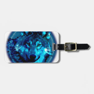 Moon Wolf Tag For Bags