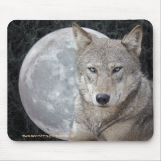Moon Wolf Mousemat Mouse Pad