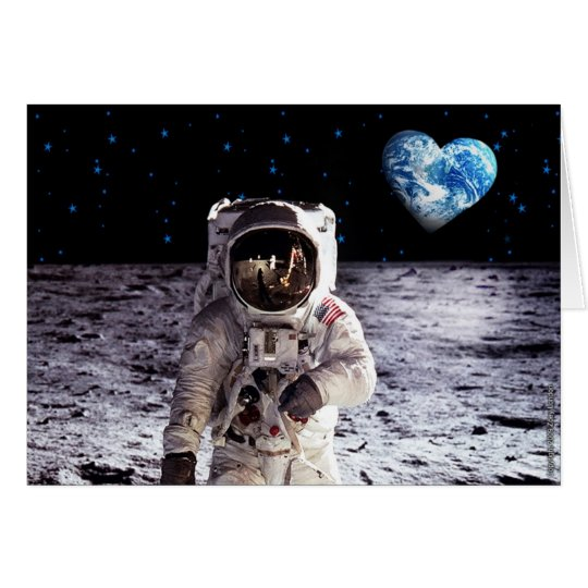 Moonage Daydream Greeting Card