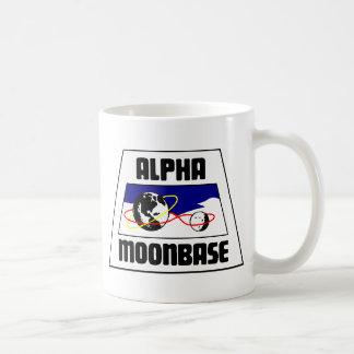 Moonbase Alpha Basic White Mug