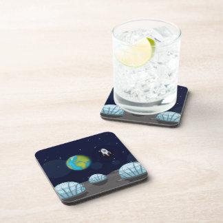 Moonbase Drink Coaster