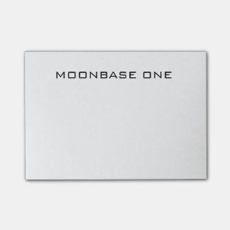 MOONBASE ONE - Post It Notes! Post-It Note