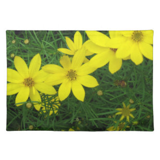 Moonbeam Coreopsis Cloth Placemat