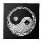 Moonbird Yang Azulejo Ceramica