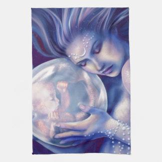 Moonborn - Mermaid and Baby Towel