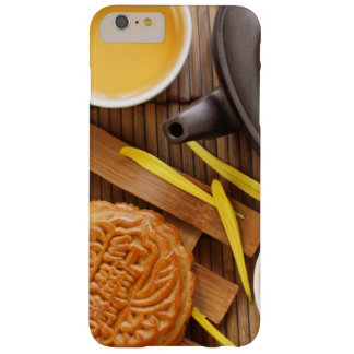Mooncake and tea,Chinese mid autumn festival 2 Barely There iPhone 6 Plus Case