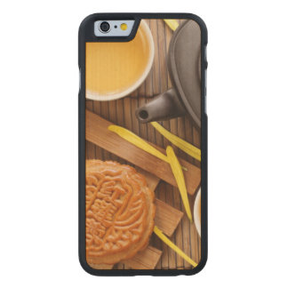Mooncake and tea,Chinese mid autumn festival 2 Carved Maple iPhone 6 Case