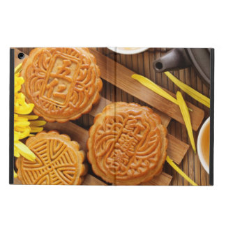 Mooncake and tea,Chinese mid autumn festival 2 iPad Air Covers