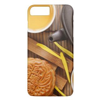 Mooncake and tea,Chinese mid autumn festival 2 iPhone 8 Plus/7 Plus Case