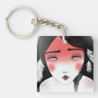 Moonchild Keychain