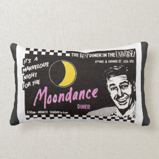 Moondance Diner New York City Pillow
