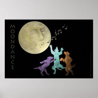 Moondance Dogs Print
