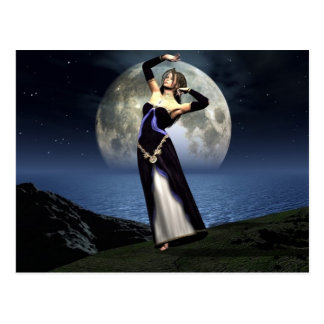 MoonDance Postcard