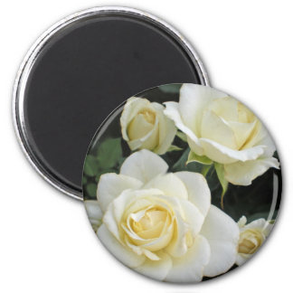 Moondance Roses 2 Inch Round Magnet