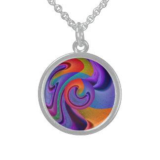 Moondance Round Pendant Necklace