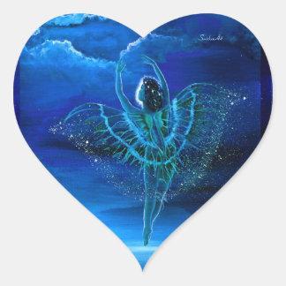 Moondancer Fairy Heart Stickers