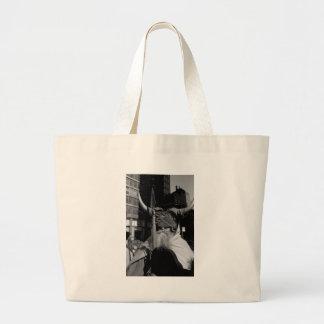 Moonddog NYC TomWurl.jpg Large Tote Bag