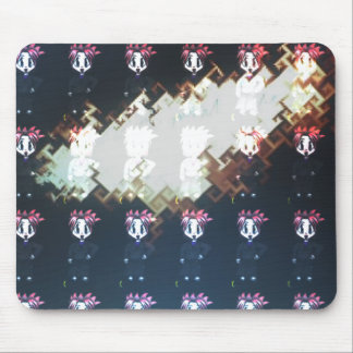 Moondial Gone Mad Mouse Pad