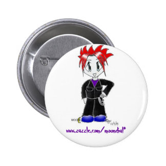 Moondial the Rebel, www.zazzle.com/moondial* Pins