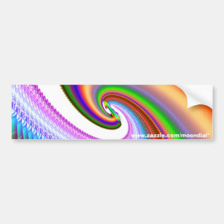 Moondial's Spiral of Happiness #1 Bumper Sticker