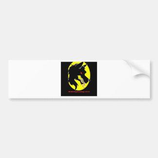 moondog bumper sticker
