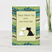 .::MoonDreams::. Happy Father's Day Dogs Card