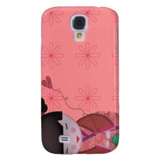 .::MoonDreams::. Little Geisha - Pink Samsung Galaxy S4 Case