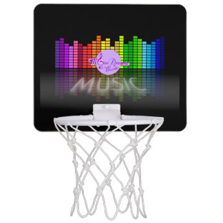 MoonDreams Music Equalizer Mini Basketball Hoop