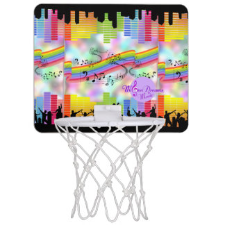 MoonDreams Music Nights Mini Basketball Goal Mini Basketball Hoop