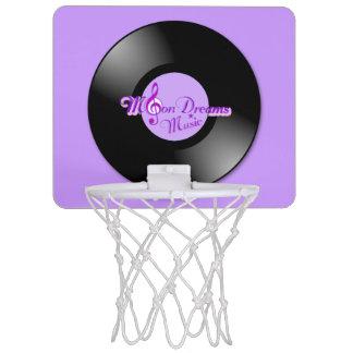 MoonDreams Music Record Mini Basketball Hoop