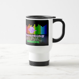 MoonDreams Music Recording Session White TravelMug Travel Mug