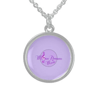 MoonDreams Music Sterling Silver Necklace