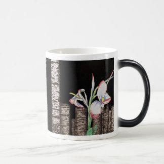 Moondrops & Thistles 11 Oz Magic Heat Color-Changing Coffee Mug