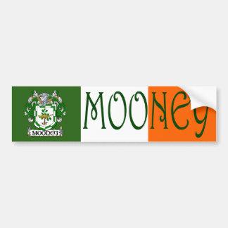 Mooney Coat of Arms Flag Bumper Sticker
