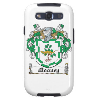 Mooney Family Crest Samsung Galaxy S3 Covers