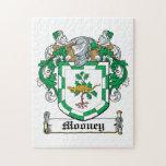 Mooney Family Crest Jigsaw Puzzle